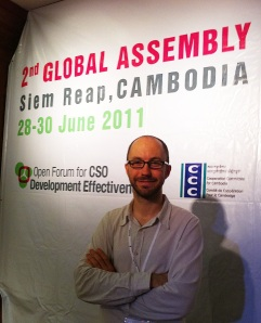 Garry Walsh in Siem Reap, Cambodia