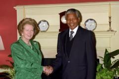 Politics - Nelson Mandela Visit - London