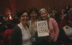 Irish NGO representatives at the Melbourne 2014 conference: Dr. Enida Friel (Oxfam Ireland), Noreen Gumbo (Trócaire) and  Deirdre Ni Cheallaigh (Trócaire)